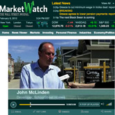 MarketWatch interview