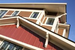 Showhouse exterior siding