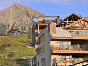 rental townhome in crested butte