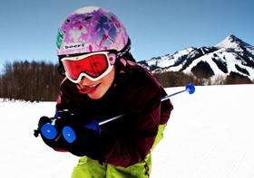kids ski in crested butte