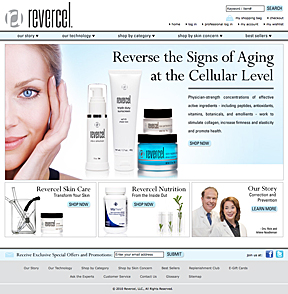 Revercel Home Page