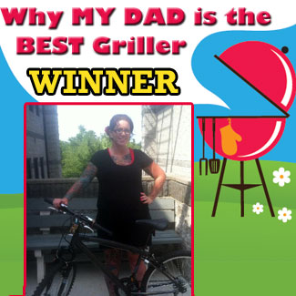 2013 Dad is the Best Griller winner