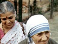 Satguru Mata with Mother Teresa