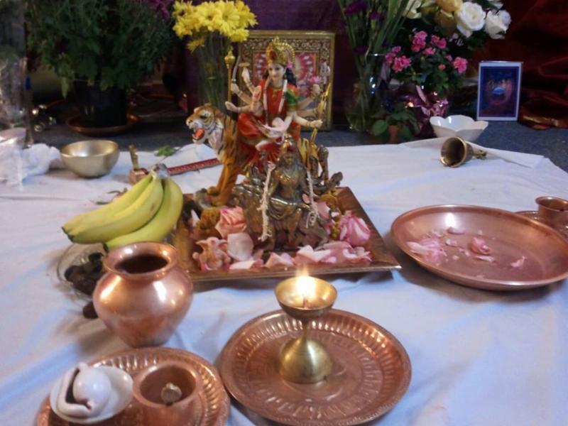 Durga-Chamundi Puja at Gayatri Temple