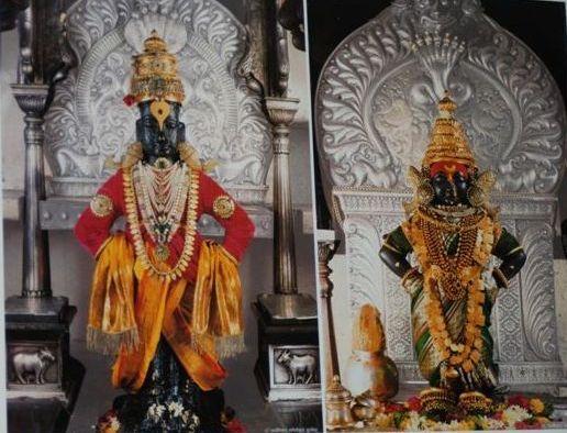 Panduranga & Rukmini at Pandarpur