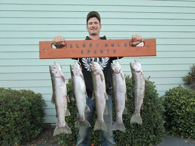 Copper gazette new melones fishing report by glory hole for New melones lake fishing report