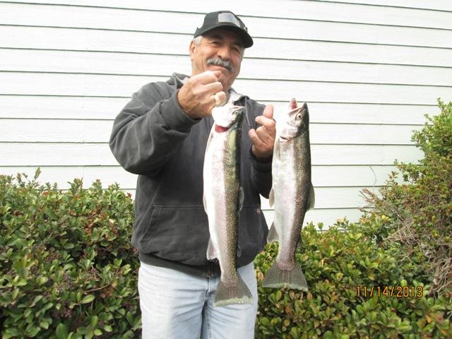 Beautiful glory hole fishing report