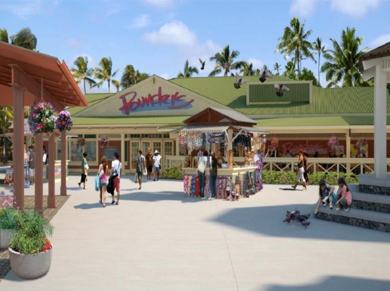Conceptual Rendering of Pounder's Restaurant