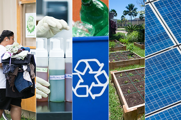 BYU-Hawaii has implemented a number of sustainability initiatives