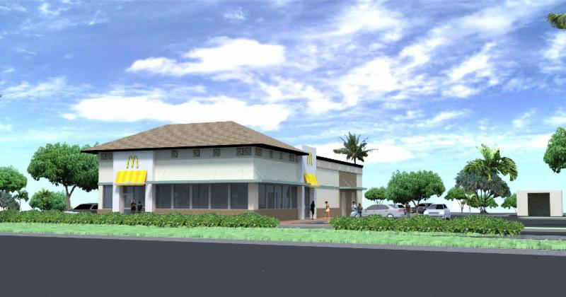 Conceptual rendering of new Laie McDonald's