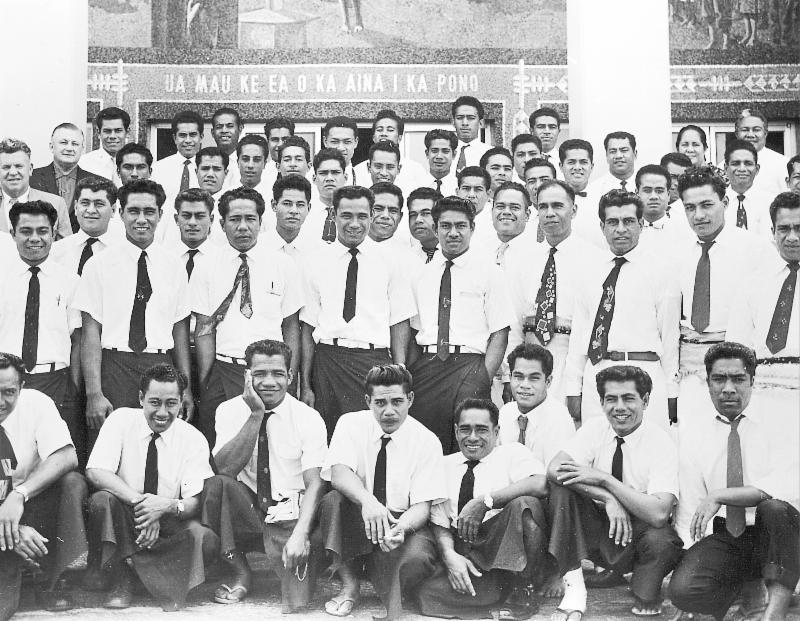 Some of Laie_s _second wave_ of labor missionaries