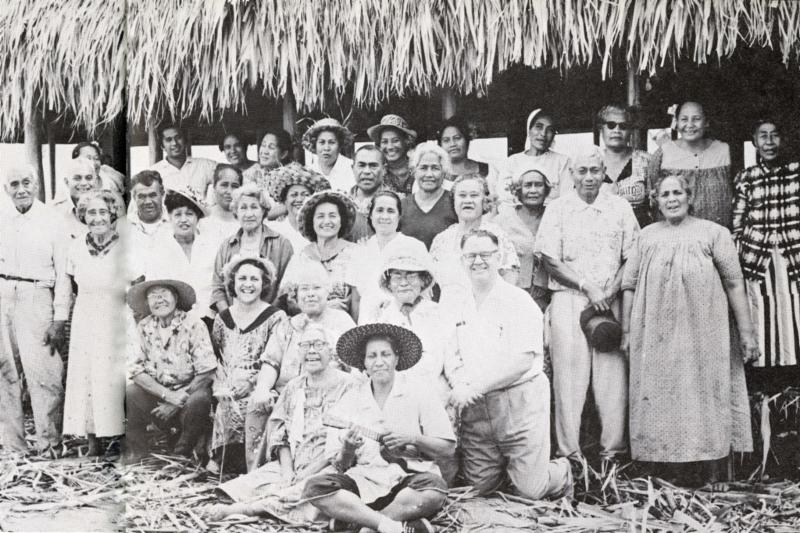 Labor missionaries at PCC_ early 1960s