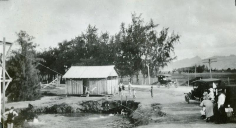 Laie_s Beauty Hole_ circa 1920s _Courtesy BYU-Hawaii Archives_