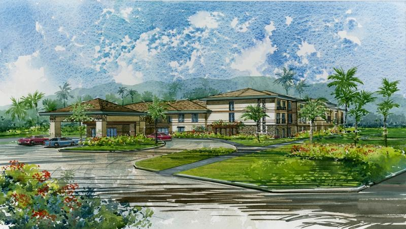 Laie Hotel Conceptual Rendering