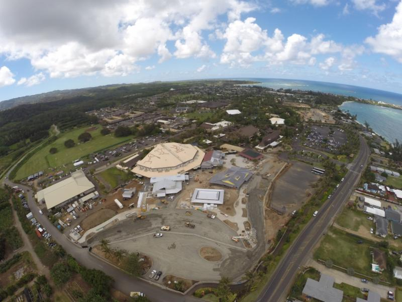 PCC Marketplace with Laie Marriott in background
