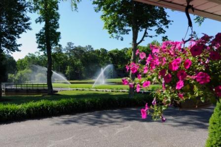 golf fountain