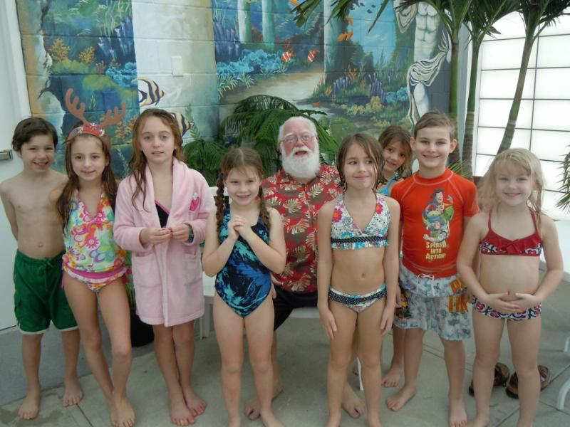 11th Annual Swim with Santa @ Sports Core Pool | Ocean Pines | Maryland | United States