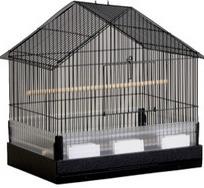 Prevue Hendrix Small Bird Cage House Top