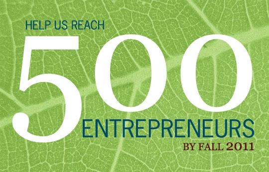 500 Entrepreneurs Campaign