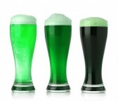 St Patrick's Day Beers Art