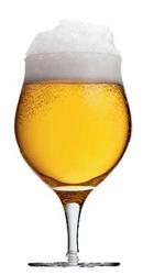 Belgian Blonde Beer Glass