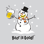 Good Beer Snowman