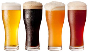Summer Beer Glasses