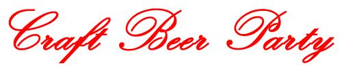 Craft beer Party Headline