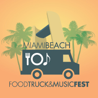 Miami Beach Food Truck & Music Fest logo