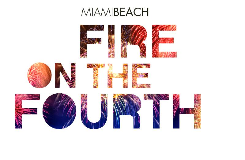 Miami Beach Fire on the Fourth of July
