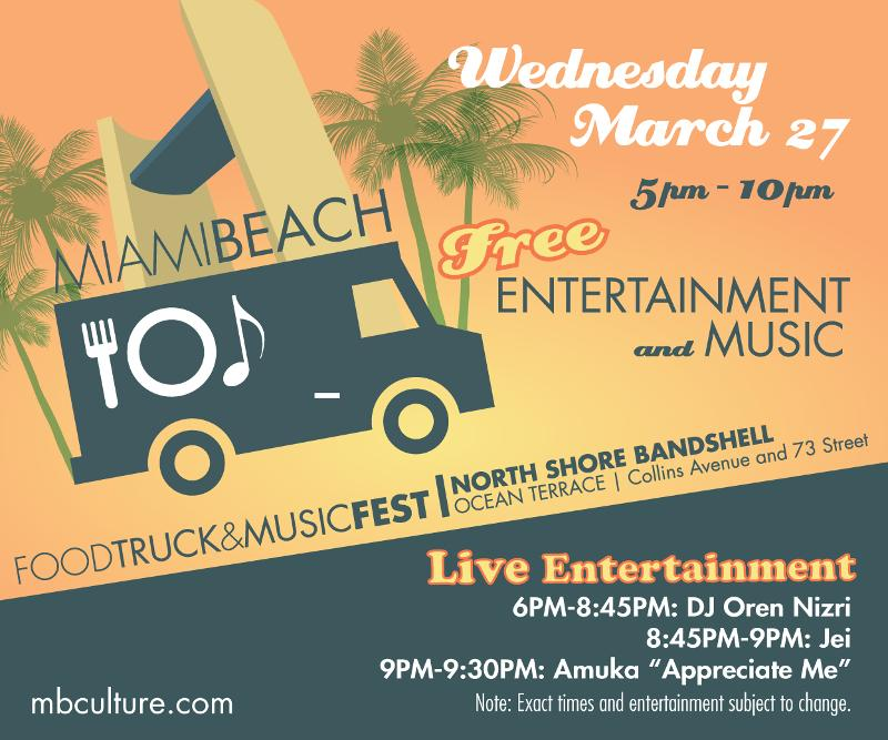 Food Truck March 27 Flyer
