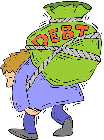 debt on your back