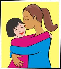 hug kid
