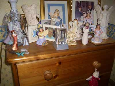 My angel altar
