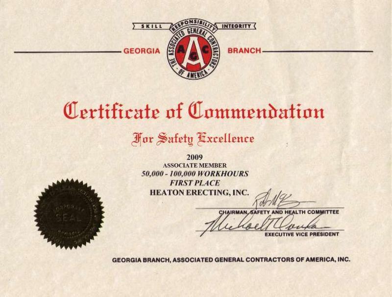 AGC Certificate