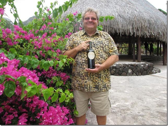 Steve in Bora Bora