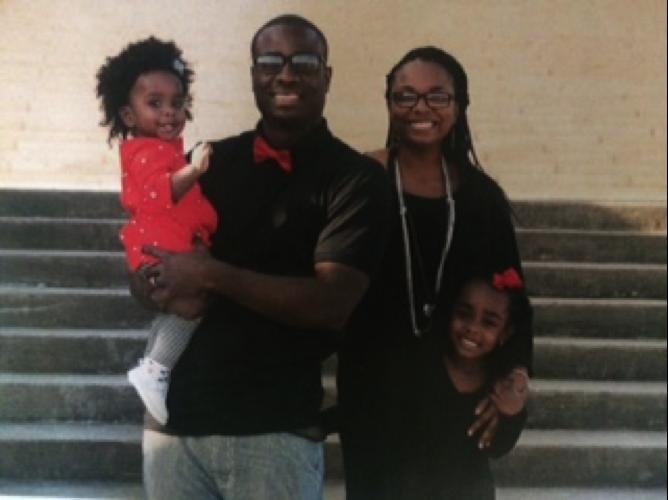 Travis Jones family