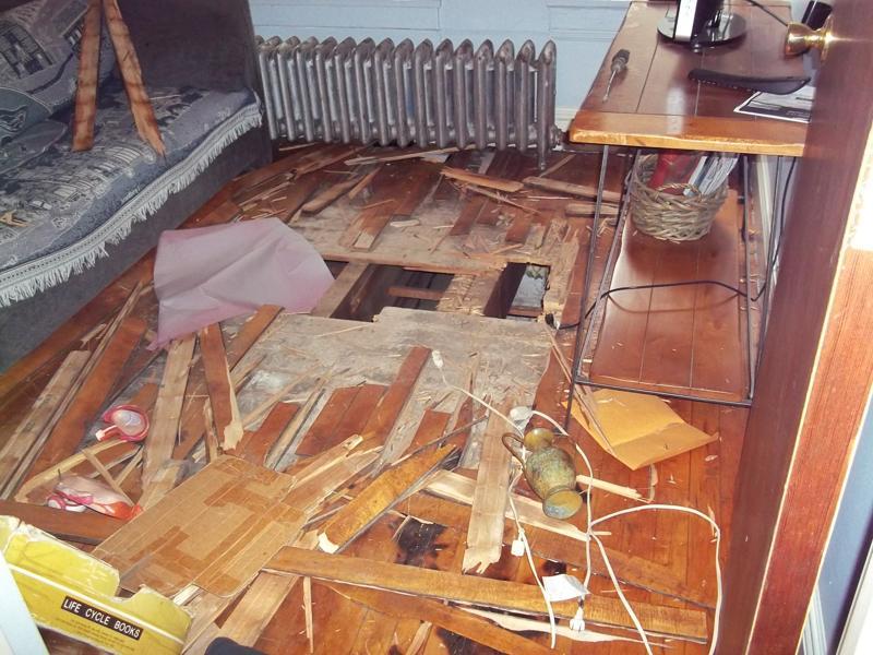 Floor Damage
