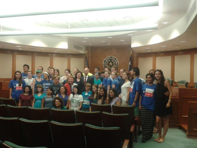 2013-Austin State House with EMC Life Team