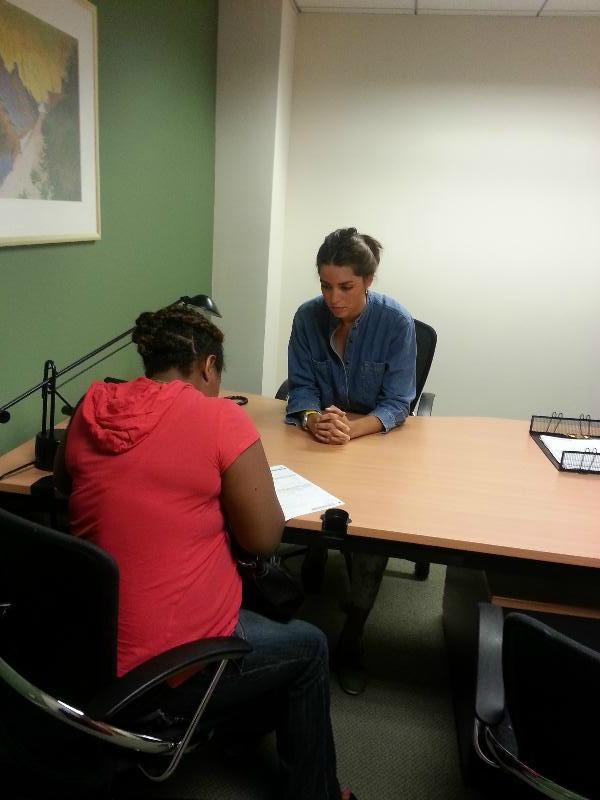 2013-Pilar in DC office w Client