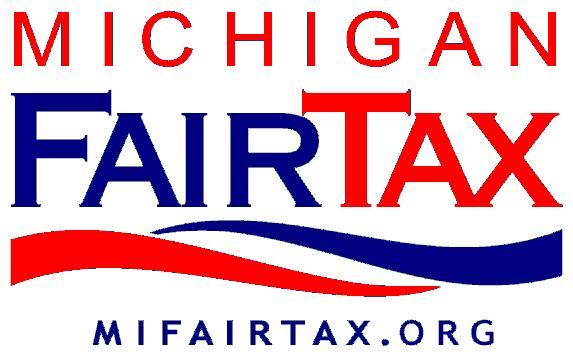 MI FairTax Prominent at Lansing Tea Party