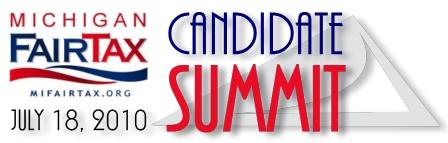 MI FairTax Candidate Summit