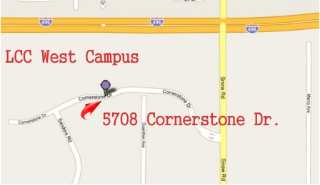 LCC West Campus Map 4