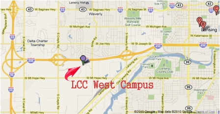 LCC West Campus Map 2