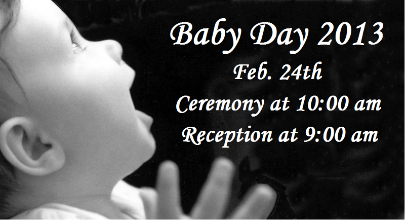 Baby Day 2013 2