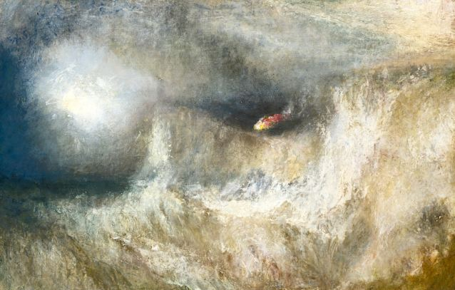 The Beacon at St. Margaret's Bay - JMW Turner