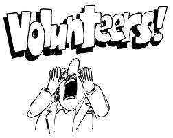Calling all Volunteers Cartoon