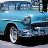 Blue car image