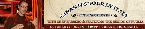 Cooking Schools with Chef Fabrizio