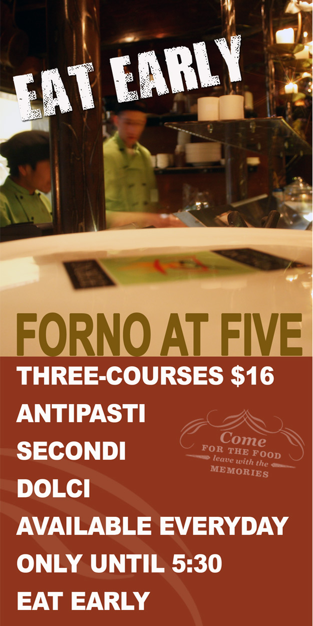 Forno at Five